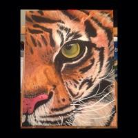 mercedes nicoll art tiger