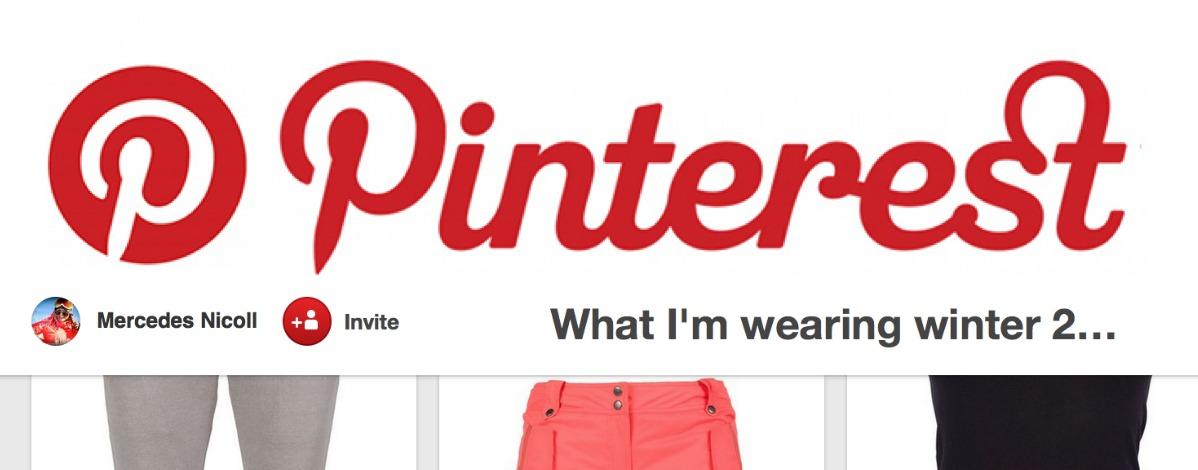 New on Pinterest, My Winter Look