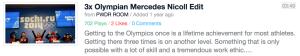 3x Olympian Mercedes Nicoll Edit
